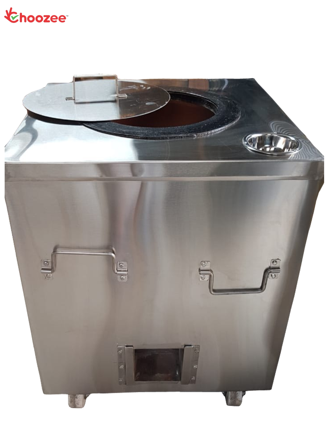 """Stainless Steel Square Tandoor (32"""" * 32"""" * 37"""")"""