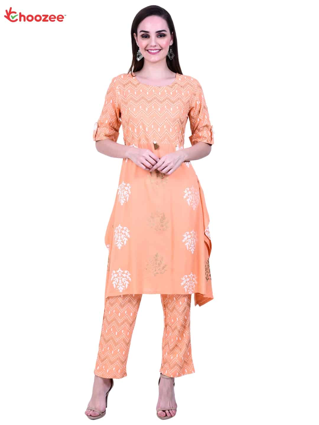 Gorgy Women Printed Kurta with Trouser