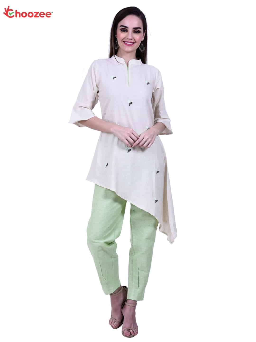 Gorgy Women Embroided Kurta with Trouser