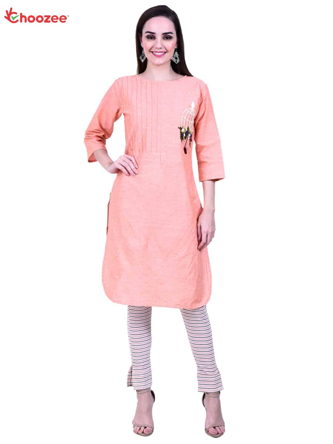 Gorgy Embroided Kurta with Trouser