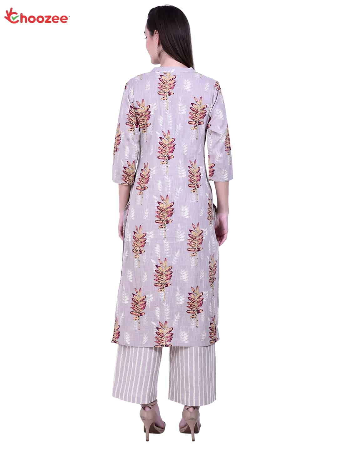Gorgy Embroided Kurta with Palazzo