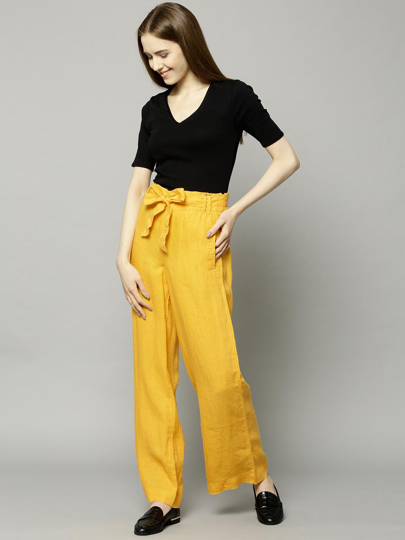 Women Linen Trouser