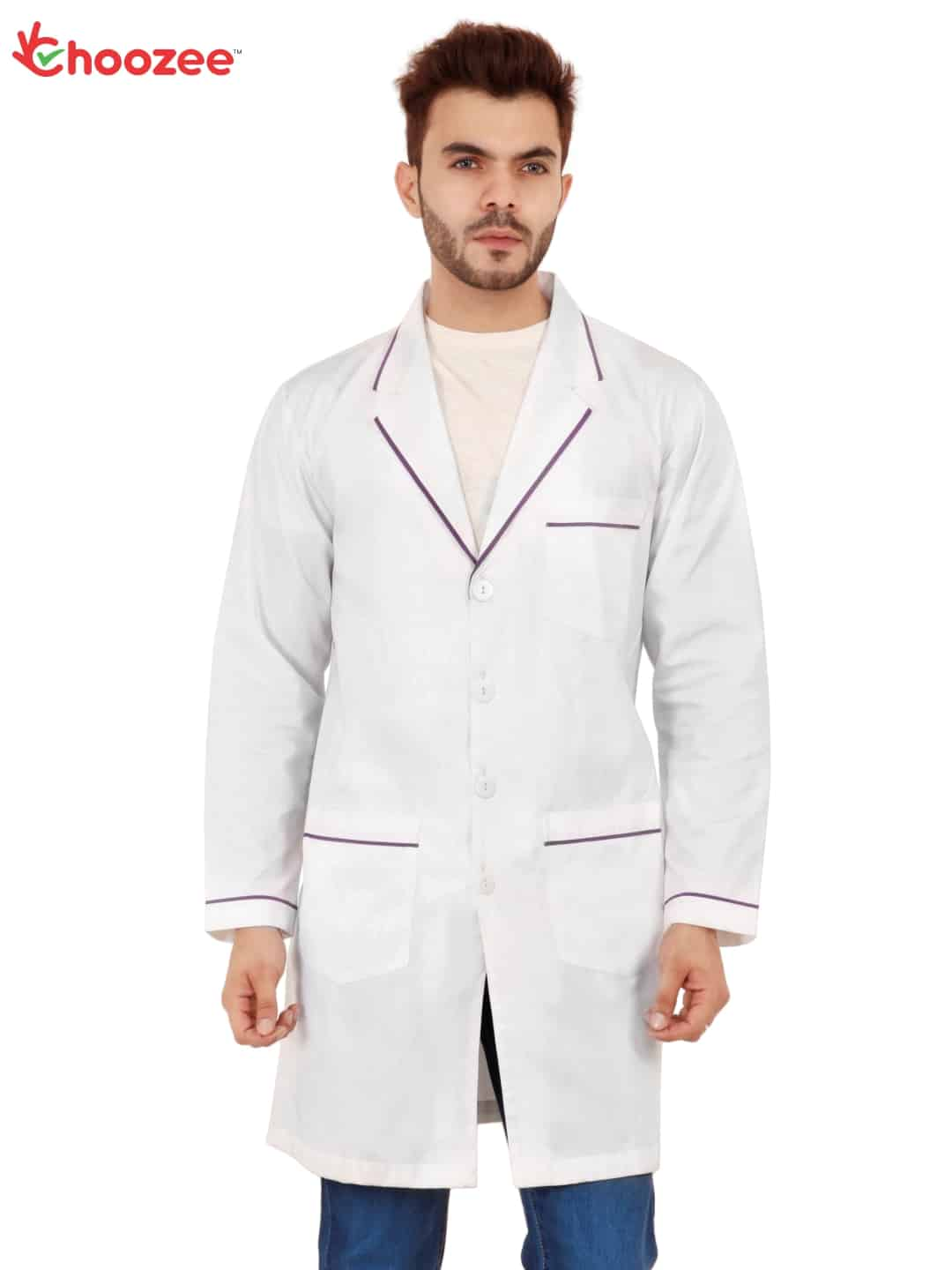 White Doctor Coat with Lining