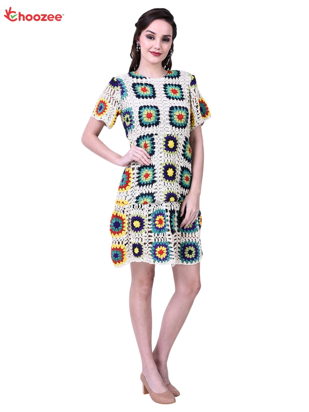 La Bella Ladies Top (Kurti) with Hand Embroidery