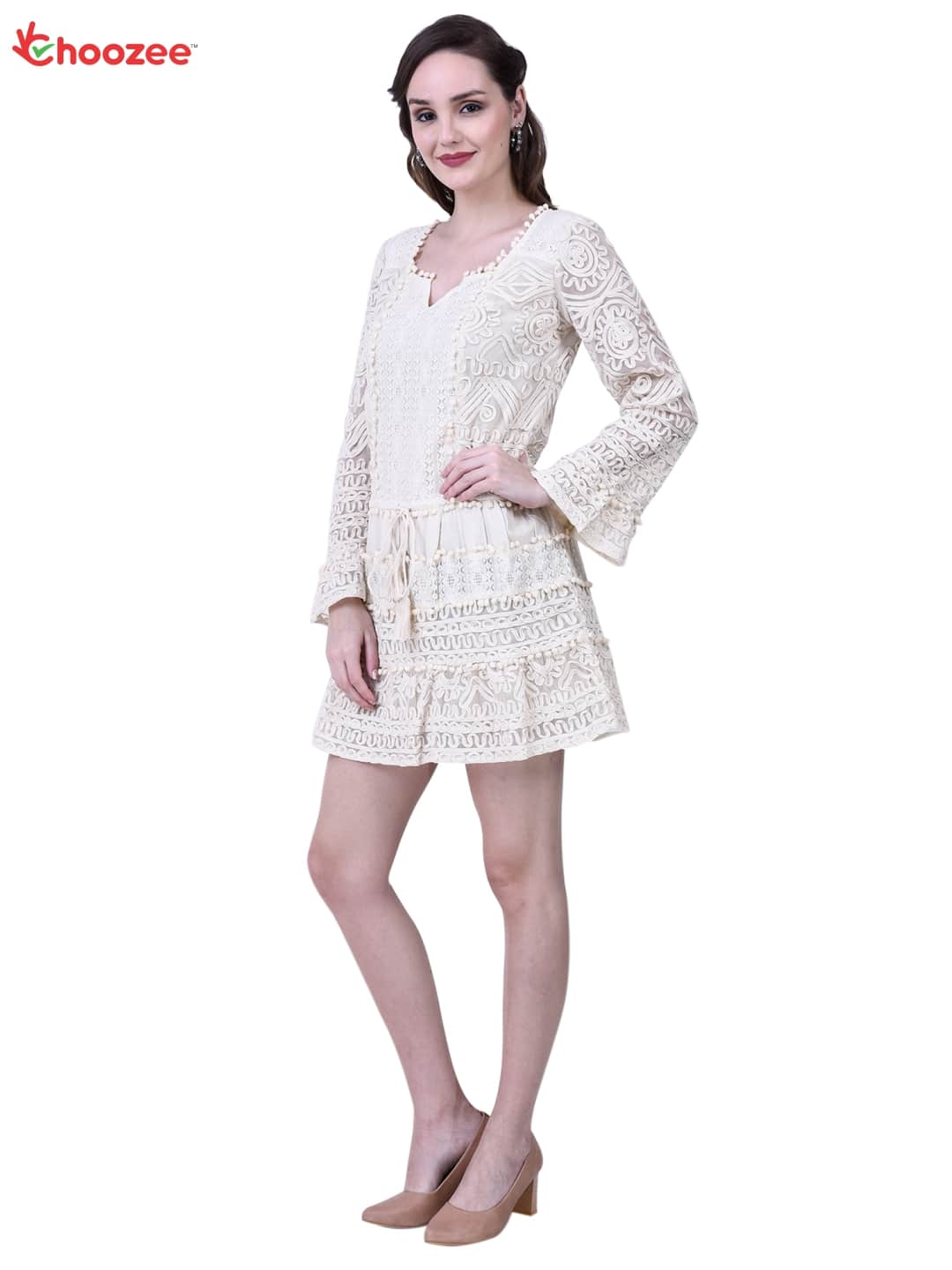 Chrysta Ladies Top (Kurti) with Hand Embroidery